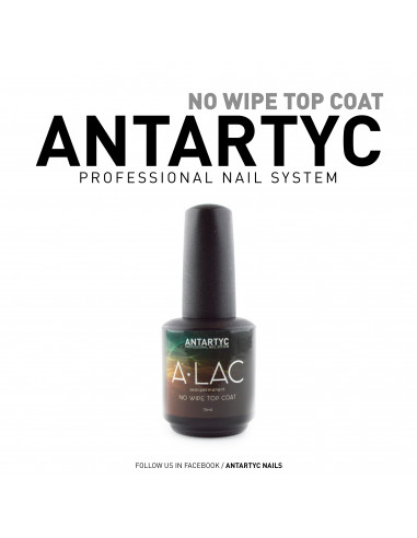 A-Lac Base & Top 15ml - No wipe Top Coat -