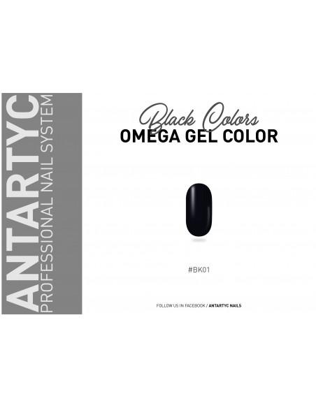 Gel color senza dispersione nero
