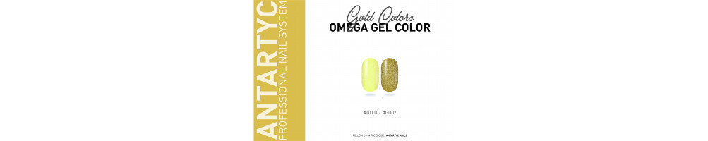 Gel color senza dispersione colore oro