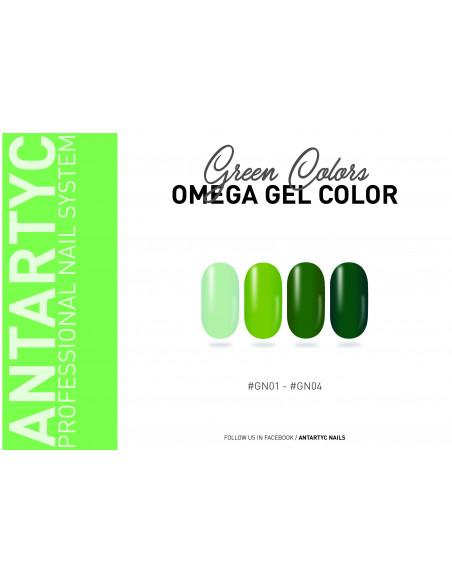 Gel color senza dispersione verde
