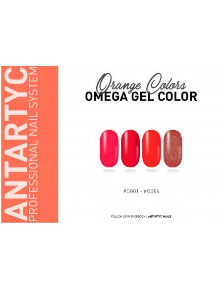 Gel color senza dispersione arancio