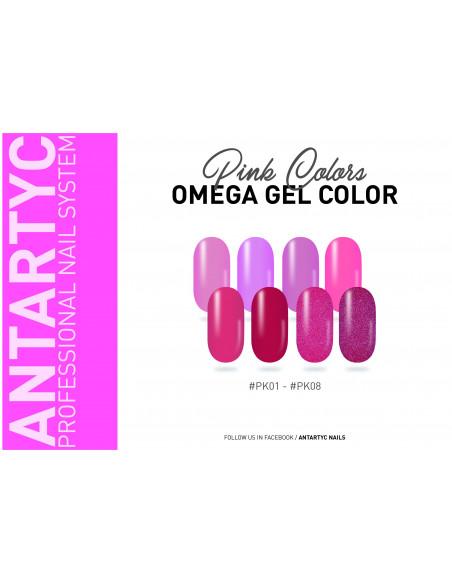 Gel color senza dispersione rosa