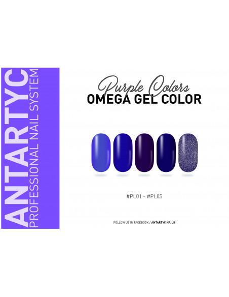 Gel color senza dispersione porpora