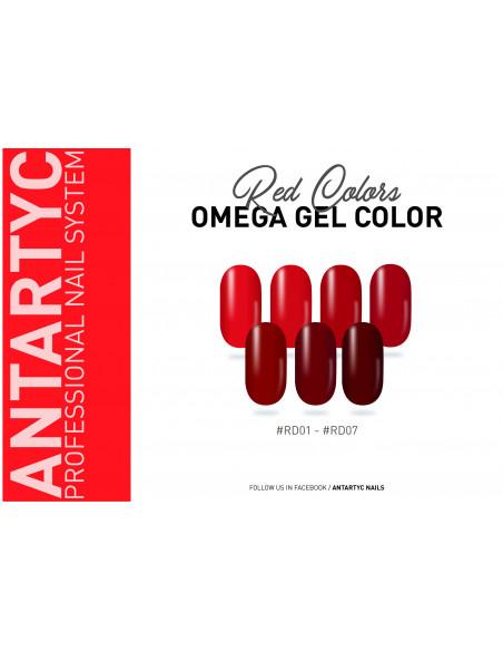 Gel color senza dispersione rosso