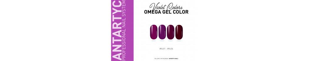 Gel color senza dispersione viola